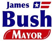 James Bush Campaign Logo
