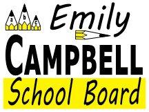 Campbell For School Board Logo Design
