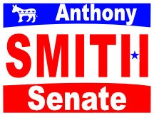 Anthonly Smith For Senate Logo