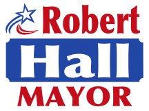 Hall For Mayor Politcal Logo