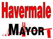 Mayor Campaign Sign