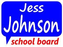 Jess Johnson School Board Campaign Logo