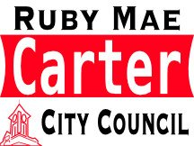 Ruby Carter Campaign Sign