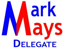 Mark Mays For Delegate Logo