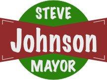 Steve Johnson Mayor Campaign Sign Logo