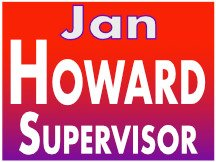 Jan Howard Campaign Sign