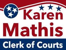 Mathis Clerk Of Court Logo Sign