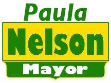 Paula Nelson For Mayor Sign