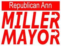Miller For Mayor Yard Sign Logo