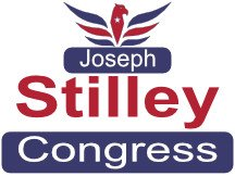 Joseph Stilley For Congress Sign Design